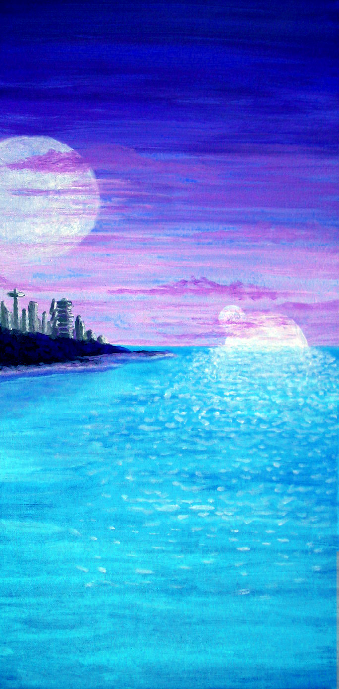 """Moonrise on Neptune III"""