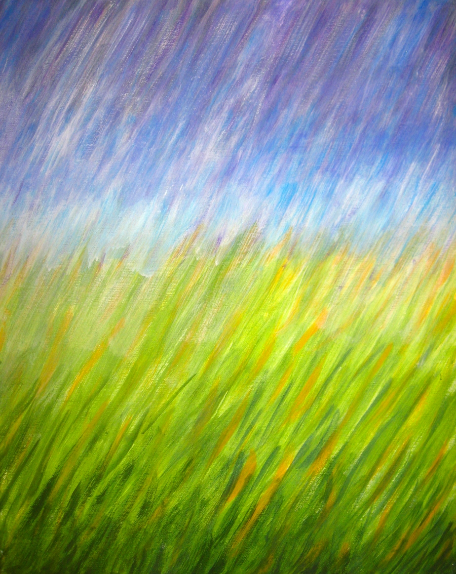 """Downpour on a Field"""