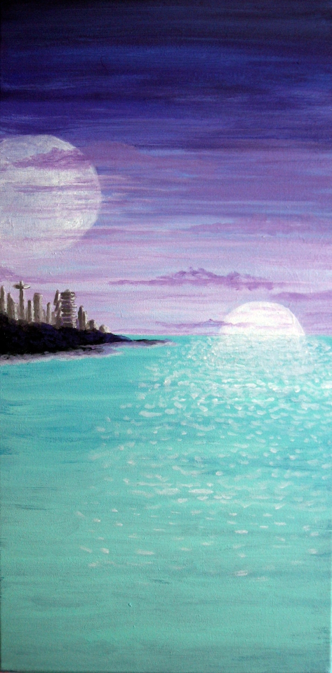 Moonrise on Neptune III