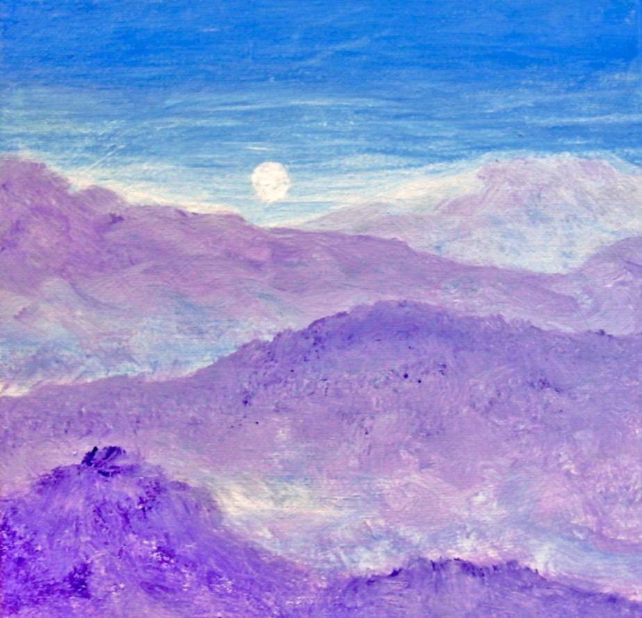 """Cold Mountain Moon"""