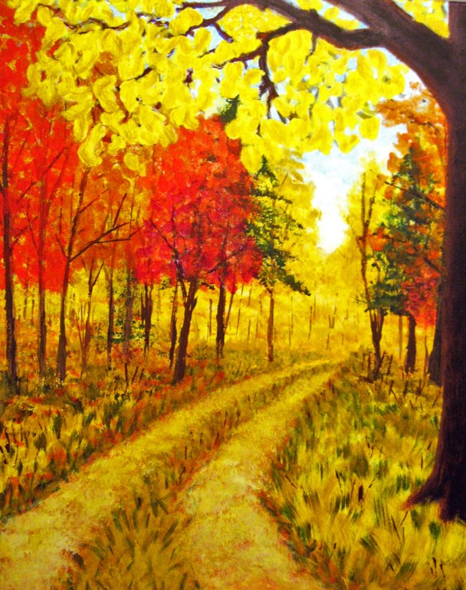 """""""October Road"""""""