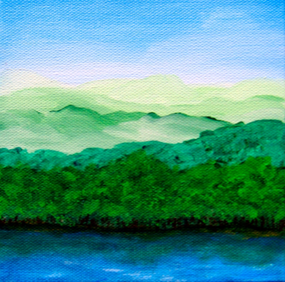 """Hill Country Lake"""